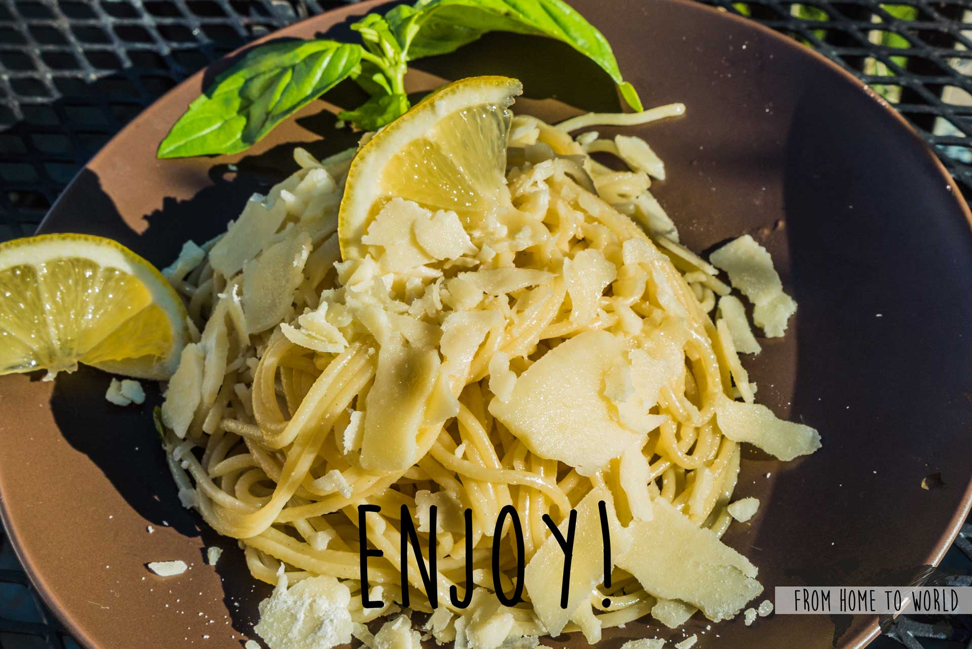 Easy Italy FromHomeToWorld Food Pasta